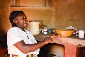 The Water Project: Masola Community A -  Mrs Mumbua In Kitchen