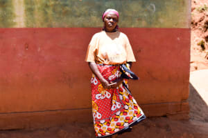 The Water Project: Utuneni Community A -  Esther Mutheu