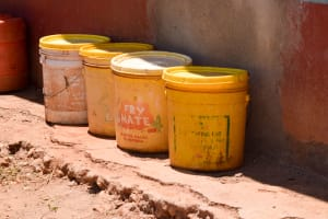 The Water Project: Uthunga Community A -  Water Storage