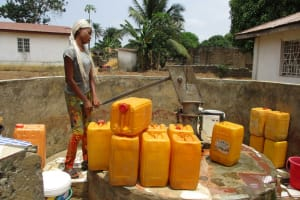 The Water Project: Mahera Community, 3 Robolla Street -  Controlled Well