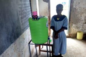 The Water Project: Imuliru Primary School -  Handwashing Demonstration