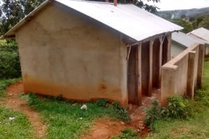 The Water Project: ACK Milimani Girls' Secondary School -  Latrine Section