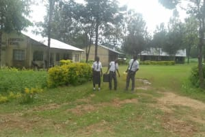 The Water Project: St. John Cheptech Secondary School -  Students Bring Water Back To School