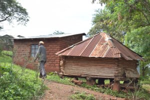 The Water Project: Kala Community -  Chicken Coop