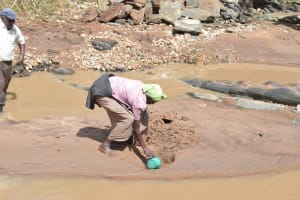 The Water Project: Kala Community -  Collecting Water