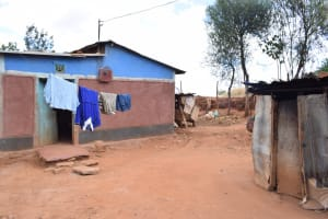 The Water Project: Kithuluni Community B -  Clothes Hagning To Dry