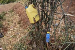 The Water Project: Kithuluni Community B -  Handwashing Station