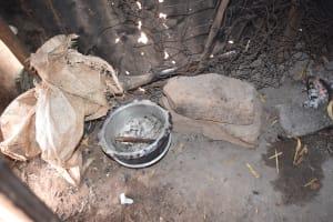 The Water Project: Kithuluni Community B -  Inside Kitchen