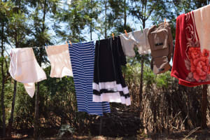 The Water Project: Ngitini Community C -  Clothes Hanging To Dry