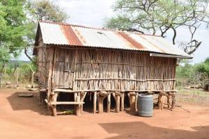 The Water Project: Ikuusya Community -  Chicken Coop