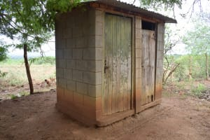 The Water Project: Ikuusya Community -  Latrines