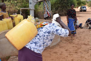 The Water Project: Katalwa Community -  Carrying Water