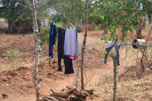 The Water Project: Katalwa Community -  Clothesline
