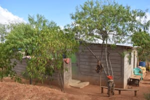 The Water Project: Katalwa Community -  Compound Side View
