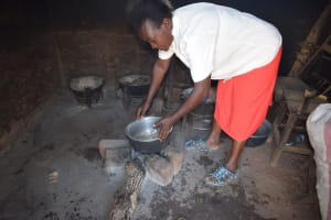 The Water Project: Katalwa Community -  Cooking Area
