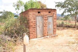 The Water Project: Katalwa Community -  Latrines