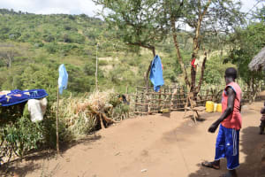 The Water Project: Masaani Community -  Clothes Hang To Dry