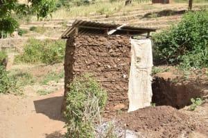 The Water Project: Masaani Community -  Latrine