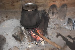 The Water Project: Ilinge Community D -  Cooking Area