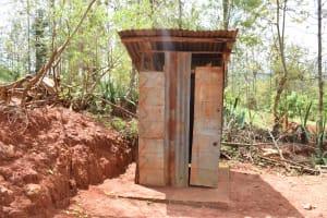 The Water Project: Kaliani Community -  Latrines