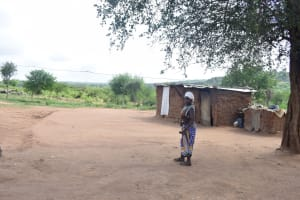 The Water Project: Maluvyu Community D -  Clothesline
