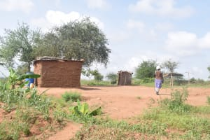 The Water Project: Maluvyu Community D -  Compound