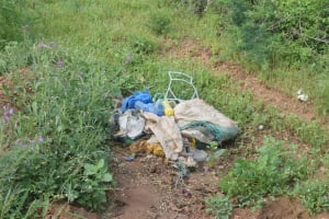 The Water Project: Maluvyu Community D -  Trash Pit