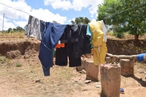 The Water Project: Mitini Community B -  Clotheslines