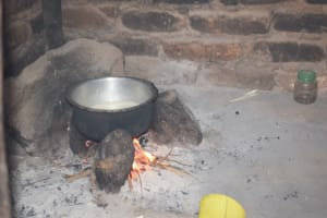 The Water Project: Mitini Community B -  Cooking Area