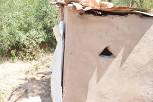 The Water Project: Mitini Community B -  Latrine