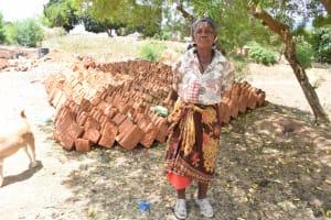 The Water Project: Mitini Community B -  Mrs Muasa
