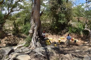 The Water Project: Mitini Community B -  Water Source