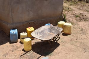 The Water Project: Mitini Community B -  Water Storage Containers