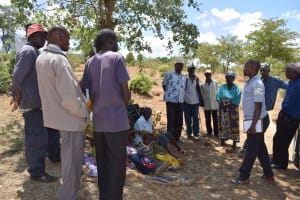 The Water Project: Mitini Community B -  Self Help Group Members