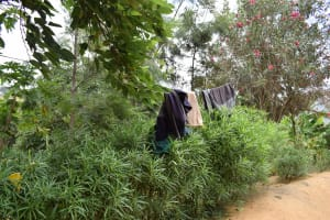 The Water Project: Kithumba Community B -  Clothes Hanging To Dry