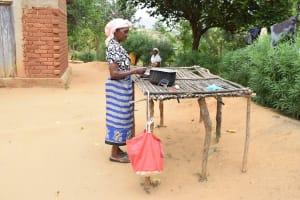 The Water Project: Kithumba Community B -  Dishrack