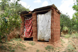The Water Project: Kithumba Community B -  Latrines