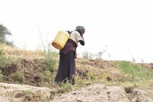 The Water Project: Masaani Community A -  Carrying Water Home