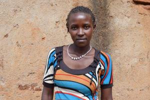 The Water Project: Masaani Community A -  Felisters Kituku