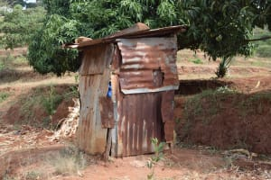 The Water Project: Masaani Community A -  Latrine