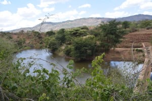 The Water Project: Kithuluni Community C -  River