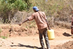 The Water Project: Ngitini Community A -  Carrying Water