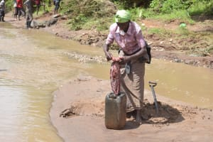 The Water Project: Kala Community A -  Preparing To Bring Water Home