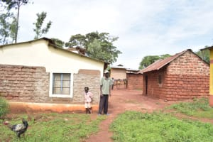 The Water Project: Kala Community A -  Standing In Compound