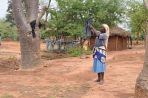 The Water Project: Ikuusya Community A -  Clothesline
