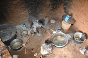 The Water Project: Ikuusya Community A -  Cooking Area