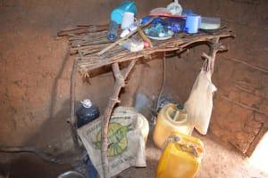 The Water Project: Ikuusya Community A -  Dish Rack In Kitchen