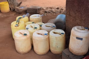 The Water Project: Katalwa Community A -  Water Storage Containers