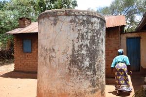 The Water Project: Mitini Community C -  Old Rain Water Storage Tank