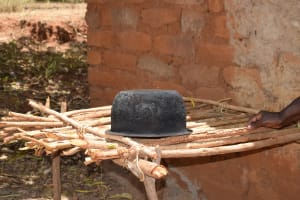 The Water Project: Mitini Community C -  Pot Drying